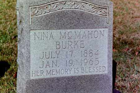 BURKE, NINA MCMAHON - Phillips County, Arkansas | NINA MCMAHON BURKE - Arkansas Gravestone Photos
