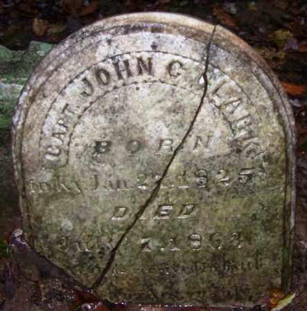 CLARK (VETERAN CSA), JOHN C - Phillips County, Arkansas | JOHN C CLARK (VETERAN CSA) - Arkansas Gravestone Photos