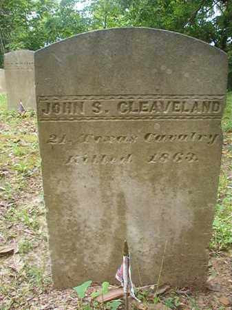 CLEAVELAND (VETERAN CSA), JOHN S - Phillips County, Arkansas | JOHN S CLEAVELAND (VETERAN CSA) - Arkansas Gravestone Photos