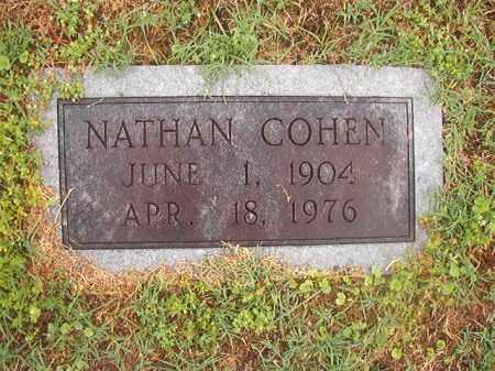COHEN, NATHAN - Phillips County, Arkansas | NATHAN COHEN - Arkansas Gravestone Photos