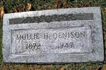DENISON, MOLLIE H. - Phillips County, Arkansas | MOLLIE H. DENISON - Arkansas Gravestone Photos