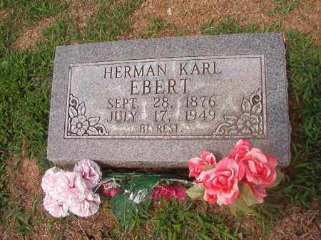 EBERT, HERMAN KARL - Phillips County, Arkansas | HERMAN KARL EBERT - Arkansas Gravestone Photos