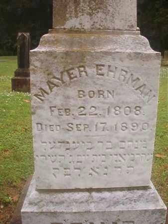 EHRMAN, MAYER - Phillips County, Arkansas | MAYER EHRMAN - Arkansas Gravestone Photos