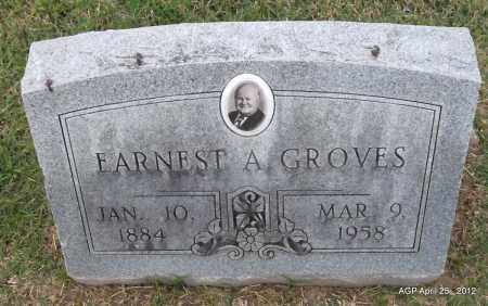 GROVES, ERNEST A - Phillips County, Arkansas | ERNEST A GROVES - Arkansas Gravestone Photos