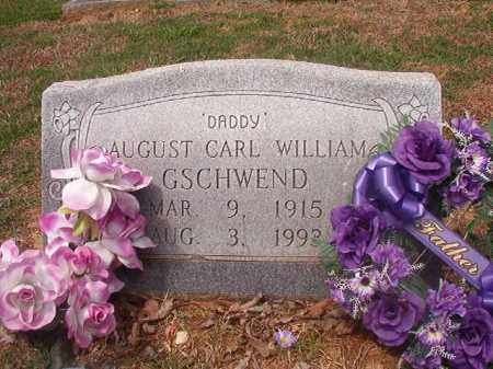 GSCHWEND, AUGUST CARL WILLIAM - Phillips County, Arkansas | AUGUST CARL WILLIAM GSCHWEND - Arkansas Gravestone Photos