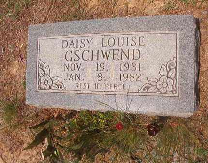GSCHWEND, DAISY LOUISE - Phillips County, Arkansas | DAISY LOUISE GSCHWEND - Arkansas Gravestone Photos