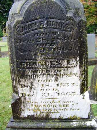 THOMPSON, FRANCIS LEE - Phillips County, Arkansas   FRANCIS LEE THOMPSON - Arkansas Gravestone Photos