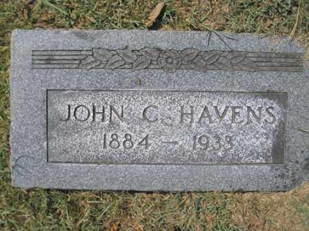 HAVENS, JOHN C. - Phillips County, Arkansas | JOHN C. HAVENS - Arkansas Gravestone Photos