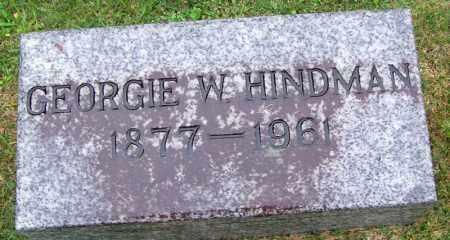 HINDMAN, GEORGE W - Phillips County, Arkansas | GEORGE W HINDMAN - Arkansas Gravestone Photos