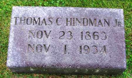 HINDMAN, JR., THOMAS C - Phillips County, Arkansas | THOMAS C HINDMAN, JR. - Arkansas Gravestone Photos