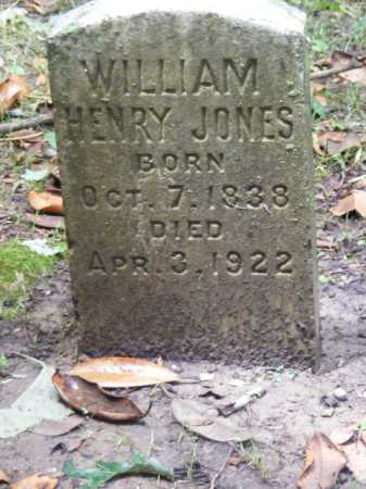 JONES (VETERAN CSA), WILLIAM HENRY - Phillips County, Arkansas | WILLIAM HENRY JONES (VETERAN CSA) - Arkansas Gravestone Photos