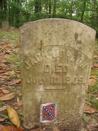 JORDON (VETERAN CSA), JACK - Phillips County, Arkansas | JACK JORDON (VETERAN CSA) - Arkansas Gravestone Photos