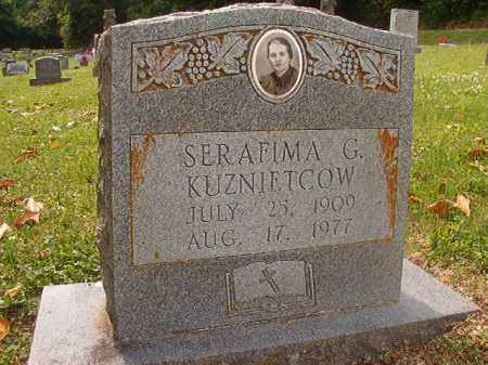 KUZNIETCOW, SERAFIMA G - Phillips County, Arkansas | SERAFIMA G KUZNIETCOW - Arkansas Gravestone Photos
