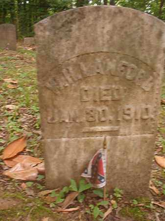 LANFORD (VETERAN CSA), W H - Phillips County, Arkansas   W H LANFORD (VETERAN CSA) - Arkansas Gravestone Photos