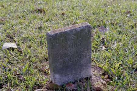 MAINS, RUTH - Phillips County, Arkansas | RUTH MAINS - Arkansas Gravestone Photos