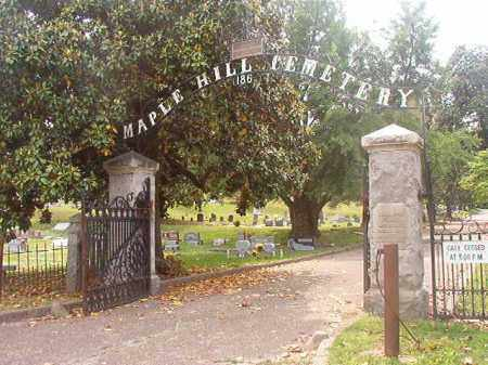 *MAPLE HILL CEMETERY ENTRANCE,  - Phillips County, Arkansas |  *MAPLE HILL CEMETERY ENTRANCE - Arkansas Gravestone Photos