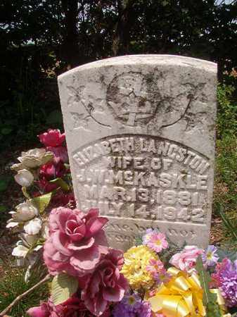 MCKASKLE, ELIZABETH - Phillips County, Arkansas | ELIZABETH MCKASKLE - Arkansas Gravestone Photos