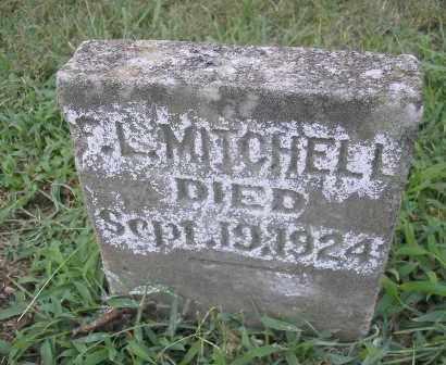 MITCHELL, F. L. - Phillips County, Arkansas | F. L. MITCHELL - Arkansas Gravestone Photos