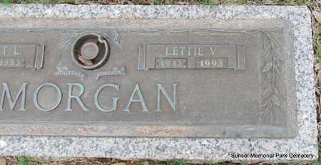 MORGAN, LETTIE V - Phillips County, Arkansas | LETTIE V MORGAN - Arkansas Gravestone Photos