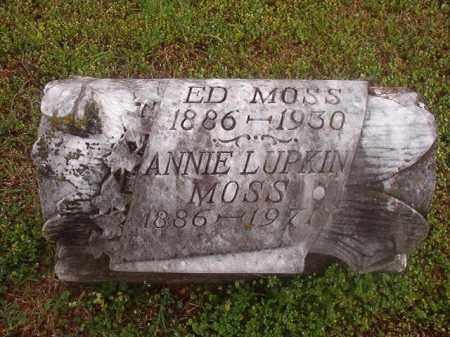 MOSS, ANNIE - Phillips County, Arkansas | ANNIE MOSS - Arkansas Gravestone Photos