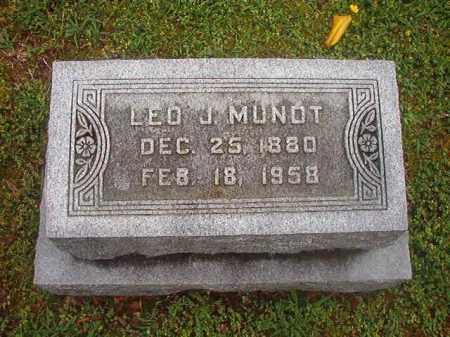 MUNOT, LEO J - Phillips County, Arkansas | LEO J MUNOT - Arkansas Gravestone Photos