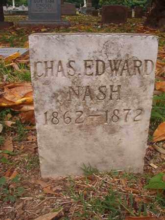 NASH, CHARLES EDWARD - Phillips County, Arkansas | CHARLES EDWARD NASH - Arkansas Gravestone Photos