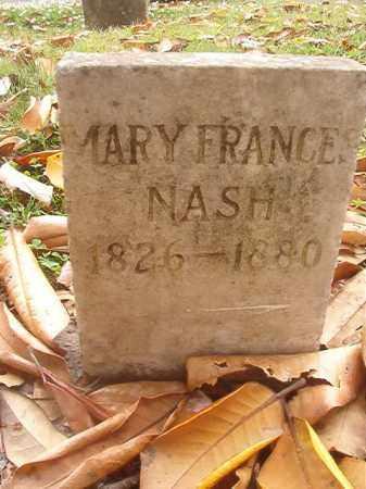 NASH, MARY FRANCES - Phillips County, Arkansas   MARY FRANCES NASH - Arkansas Gravestone Photos