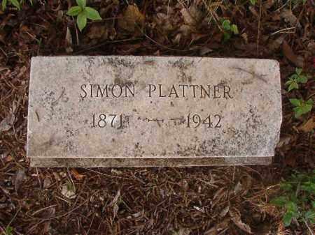 PLATTNER, SIMON - Phillips County, Arkansas | SIMON PLATTNER - Arkansas Gravestone Photos