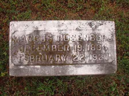 ROSENBERG, MARCUS - Phillips County, Arkansas   MARCUS ROSENBERG - Arkansas Gravestone Photos