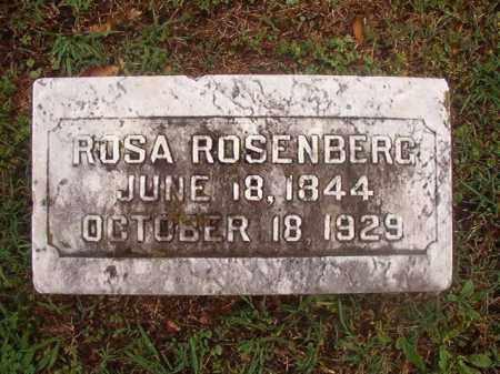 ROSENBERG, ROSA - Phillips County, Arkansas | ROSA ROSENBERG - Arkansas Gravestone Photos