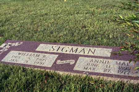 SIGMAN, SAMUEL WILLIAM ROBERT - Phillips County, Arkansas | SAMUEL WILLIAM ROBERT SIGMAN - Arkansas Gravestone Photos