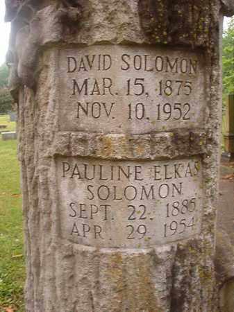 SOLOMON, DAVID - Phillips County, Arkansas | DAVID SOLOMON - Arkansas Gravestone Photos