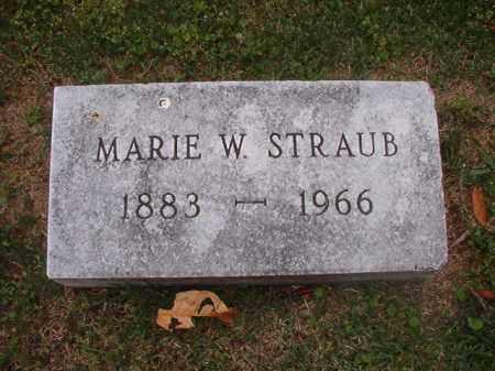 STRAUB, MARIE W - Phillips County, Arkansas | MARIE W STRAUB - Arkansas Gravestone Photos