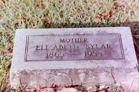 SYLAR, ELIZABETH - Phillips County, Arkansas | ELIZABETH SYLAR - Arkansas Gravestone Photos