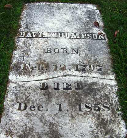 THOMPSON, DAVIS - Phillips County, Arkansas | DAVIS THOMPSON - Arkansas Gravestone Photos