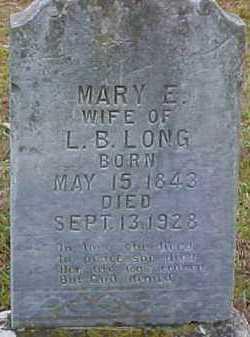 LONG, MARY ELIZABETH - Pike County, Arkansas | MARY ELIZABETH LONG - Arkansas Gravestone Photos