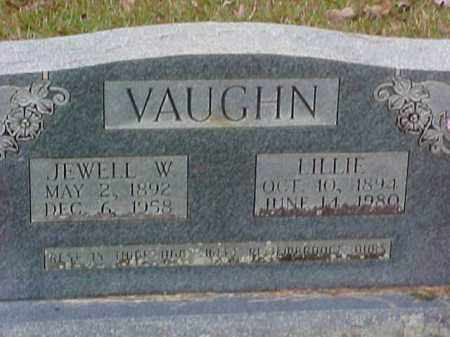 WILLIAMS VAUGHN, LILLIE - Pike County, Arkansas | LILLIE WILLIAMS VAUGHN - Arkansas Gravestone Photos