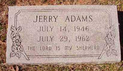 ADAMS, JERRY - Pike County, Arkansas | JERRY ADAMS - Arkansas Gravestone Photos