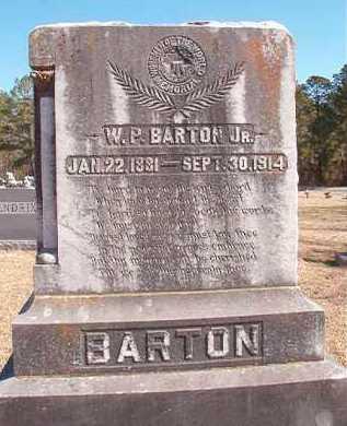 BARTON, W P, JR - Pike County, Arkansas | W P, JR BARTON - Arkansas Gravestone Photos