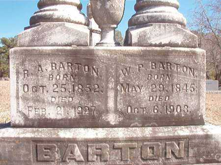 BARTON, R A - Pike County, Arkansas | R A BARTON - Arkansas Gravestone Photos