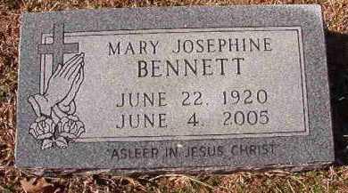 BENNETT, MARY JOSEPHINE - Pike County, Arkansas | MARY JOSEPHINE BENNETT - Arkansas Gravestone Photos