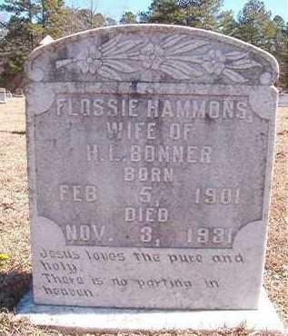 BONNER, FLOSSIE - Pike County, Arkansas | FLOSSIE BONNER - Arkansas Gravestone Photos