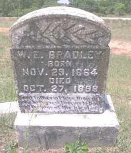 BRADLEY, W.E. - Pike County, Arkansas | W.E. BRADLEY - Arkansas Gravestone Photos