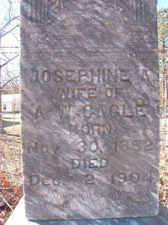 CAGLE, JOSEPHINE - Pike County, Arkansas | JOSEPHINE CAGLE - Arkansas Gravestone Photos