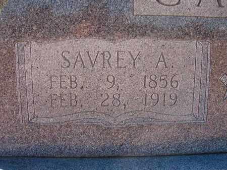 CAGLE, SAVREY A - Pike County, Arkansas   SAVREY A CAGLE - Arkansas Gravestone Photos
