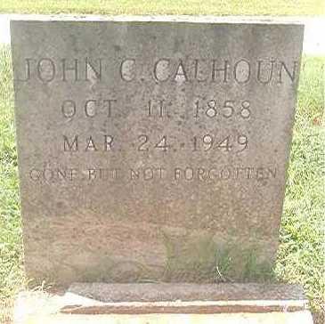 CALHOUN, JOHN C - Pike County, Arkansas   JOHN C CALHOUN - Arkansas Gravestone Photos