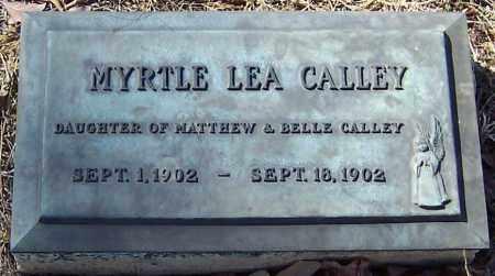 CALLEY, MYRTLE LEA - Pike County, Arkansas | MYRTLE LEA CALLEY - Arkansas Gravestone Photos