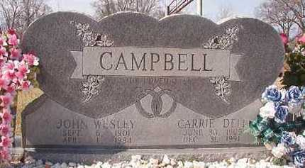 CAMPBELL, JOHN WESLEY - Pike County, Arkansas | JOHN WESLEY CAMPBELL - Arkansas Gravestone Photos