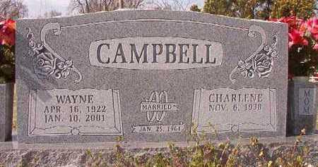 CAMPBELL, WAYNE - Pike County, Arkansas | WAYNE CAMPBELL - Arkansas Gravestone Photos