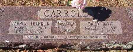 CARROLL, EARNEST FRANKLIN - Pike County, Arkansas | EARNEST FRANKLIN CARROLL - Arkansas Gravestone Photos